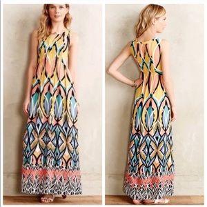 Floreat For Anthropologie Daliah Maxi Dress
